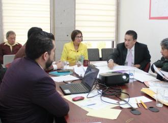 Gestiona Margarita Corro, reunión entre autoridades del ejido Jorge L. Tamayo con Comisión de Límites Territoriales Intermunicipales