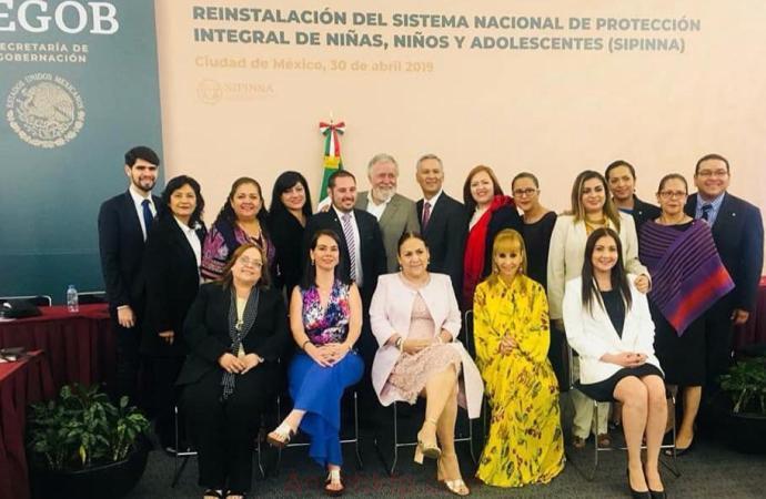 Veracruz en la Reinstalación del Sistema de Protección Integral de Niñas, Niños y Adolescentes