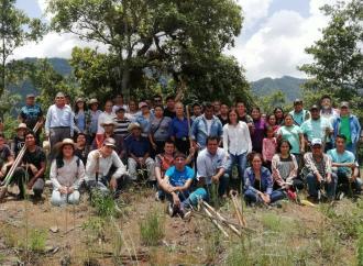 Activan Programa Reforestando Cuencas para rescatar cuerpos de agua