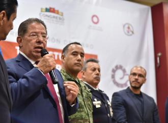 Unidad social, para fortalecer la seguridad pública: diputado Pozos Castro