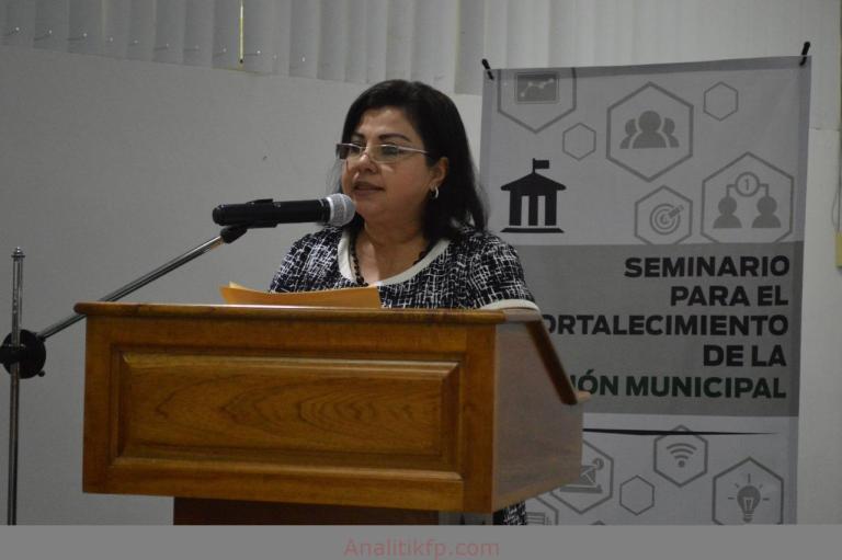 Fortalecer al municipio, la clave para una mejor administración: Florencia Martínez