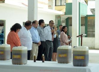 Adquiere SEV repelente orgánico creado por estudiantes de TEBAEV de El Castillo