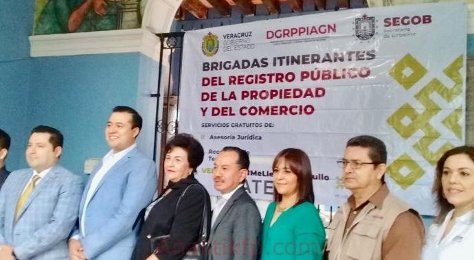 Brigadas itinerantes en Coatepec