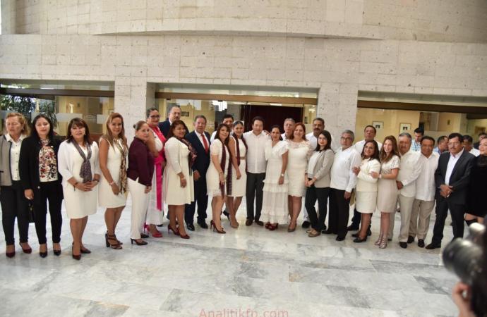 Coordinación y Unidad entre diputados federales y locales: Pozos Castro