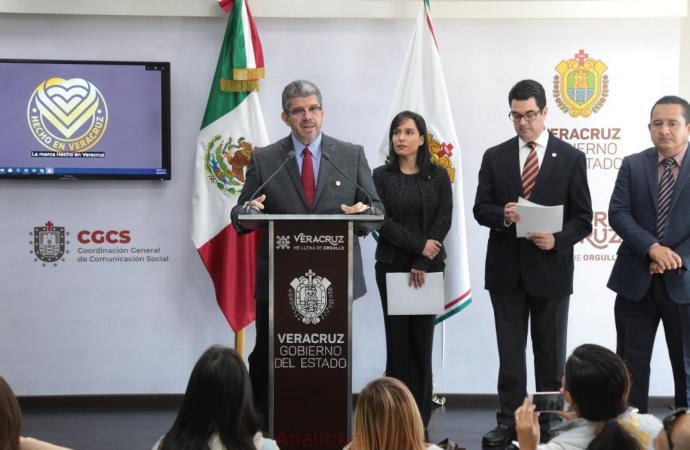 """Lanza SEDECOP marca """"Hecho en Veracruz"""""""