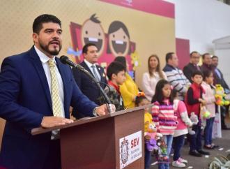"Inicia SEV, por segundo año consecutivo, la campaña ""Dona un juguete, dona amor"""