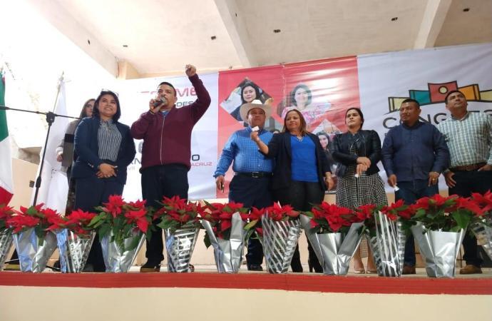 Desde MORENA, sentamos las bases del combate a la corrupción y la desigualdad social: Deisy Juan