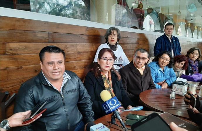 Gentes de Los Atilxcos de Alto Lucero denunciaron que el alcalde apoya a la empresa Pilgrims que sigue construyendo