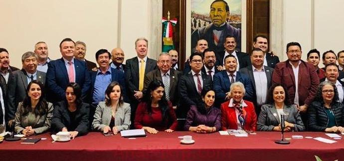 Se reúne Gómez Cazarín con titulares de SEGOB y SRE