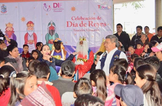 DIF Municipal Teocelo festejó el Día de Reyes con espectacular evento