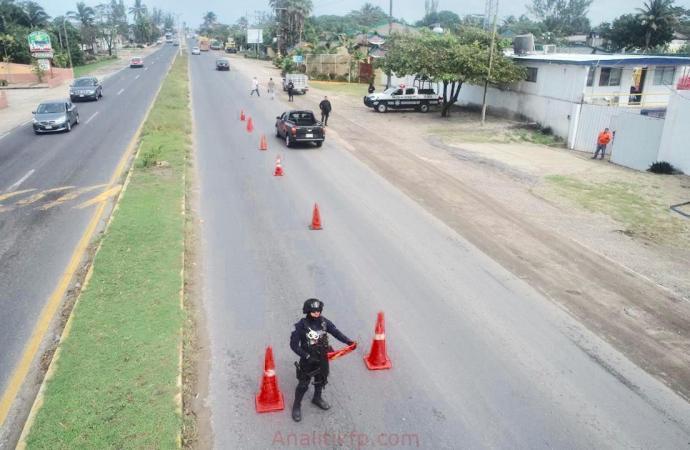 Detuvo SSP a mil 550 personas y recuperó 129 vehículos con reporte de robo, en Operativo Guadalupe-Reyes