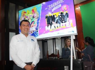 Presentan autoridades municipales cartelera del Carnaval de alegría Misantla 2020