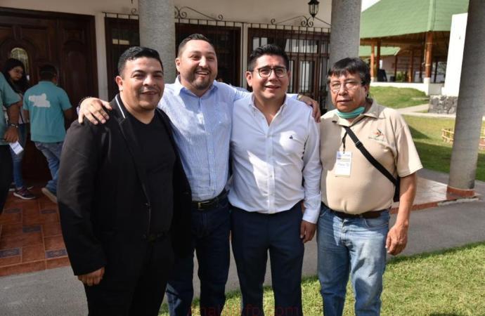 Esteban Ramírez y Gómez Cazarín, muestra de unidad y fortaleza interna en MORENA