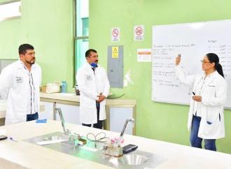 Tecnológico de Misantla produce 11 mil litros de gel antibacterial para distribuir en dependencias