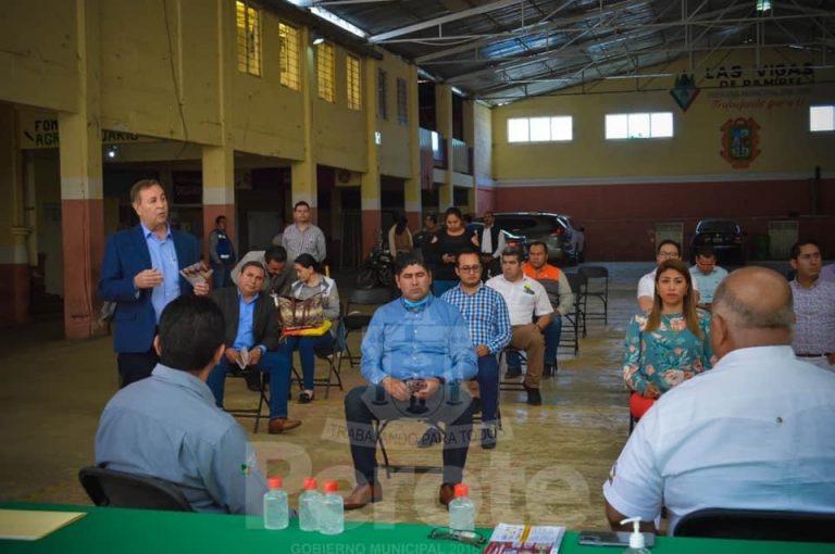 Reunión regional de alcaldes con Eric Cisneros