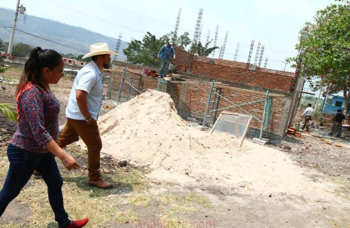 Inspecciona SEV obras en escuelas de Actopan, donde invierte más de 2.5 mdp