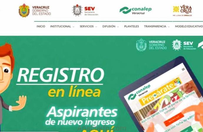 Abre CONALEP Veracruz plataforma para ingreso a distancia