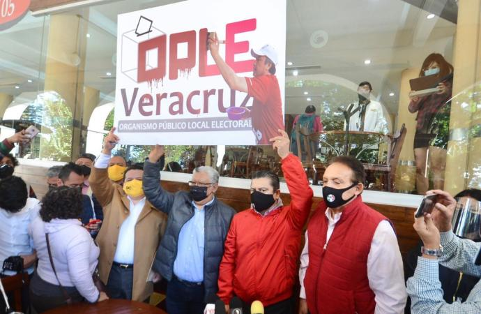 Fraguan OPLE y Gobierno del estado fraude electoral histórico en Veracruz