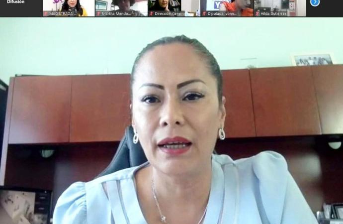 Participó la CEDH en Conversatorio Virtual sobre Voto Femenino
