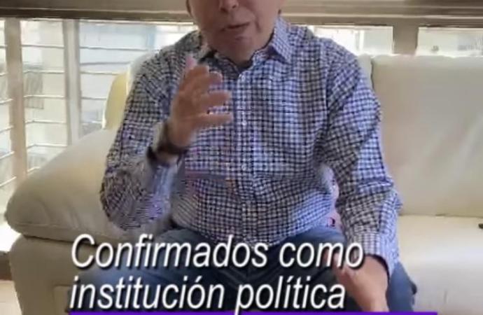Partido Encuentro Solidario con registro nacional: Gonzalo Guizar Valladares