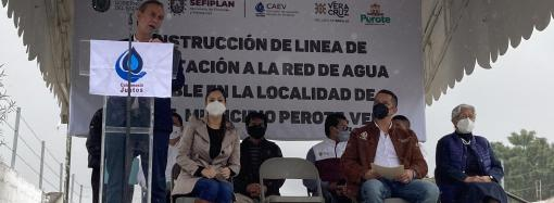 Sin distanciamientos Ayuntamiento peroteño y CAEV, operamos a favor de vecinos: Paco Hervert