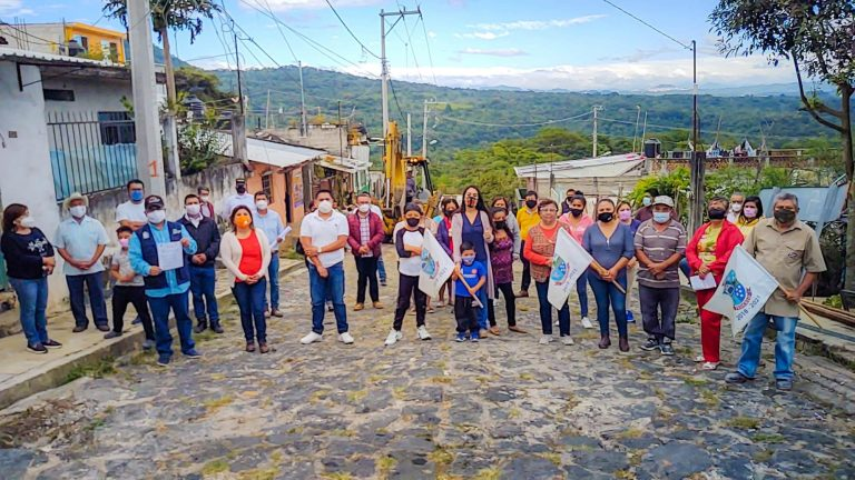 Obra pública de impacto social en la Calle Guillermo Prieto de la Cabecera Municipal de Teocelo