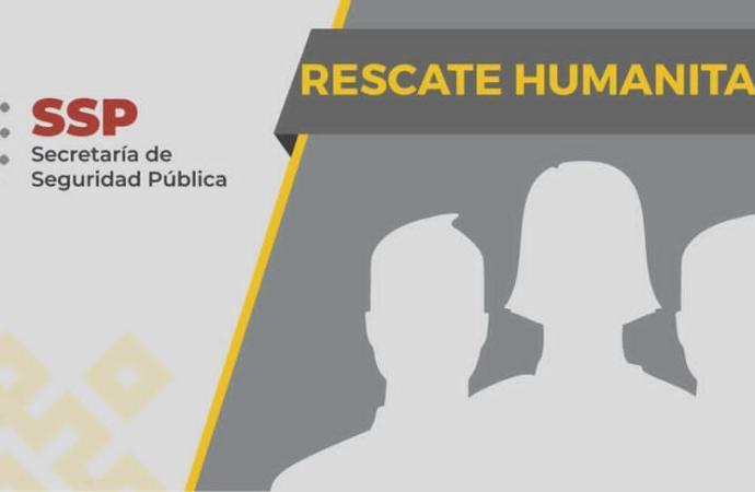 Rescata SSP a 139 migrantes en cinco municipios; 13 detenidos por presunto tráfico de personas
