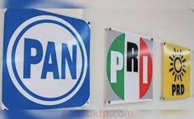 Así se repartirán los distritos federales, en Veracruz, la Alianza PAN-PRD-PRI