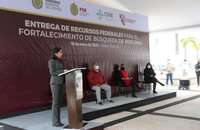 Optimizan FGE y CEB acciones para la búsqueda y localización de personas en Veracruz