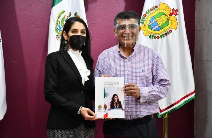 Importantes resultados ha logrado la FGE reconoce el diputado Raymundo Andrade