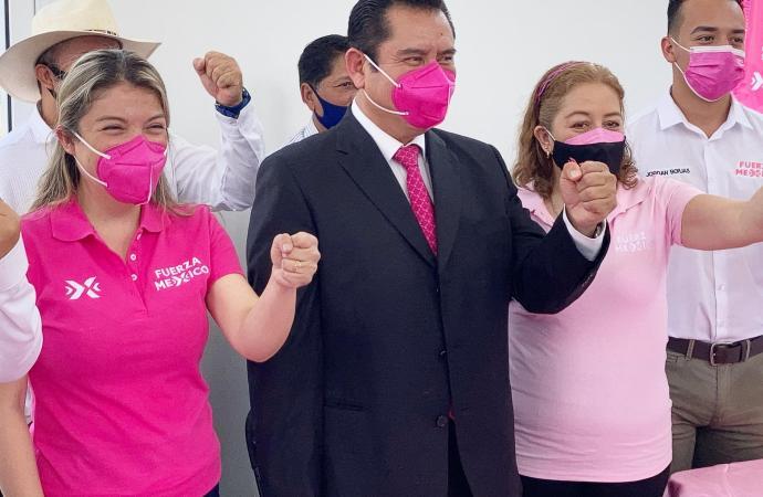 Fuerza Veracruz con Gonzalo Vicencio y Regina Vazquez en Veracruz
