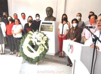 PRI Veracruz, conmemora 36 Aniversario Luctuoso del ilustre tuxpeño, Jesús Reyes Heroles