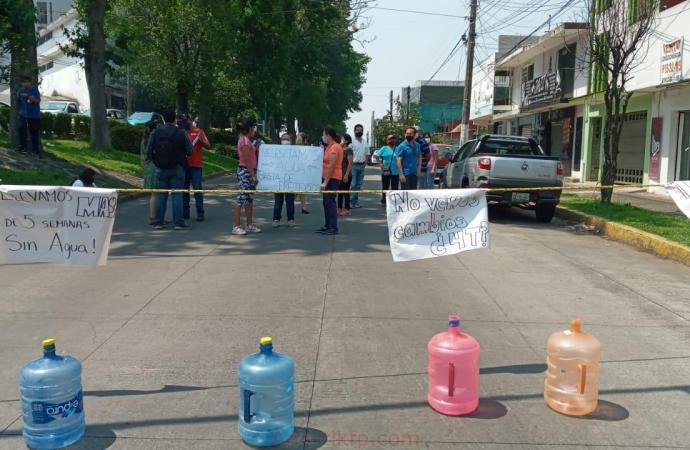 No les cae agua en la Obrero Campesina de Xalapa