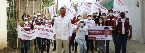 Raymundo Andrade: Los coatepecanos no quieren repetir gobiernos CORRUPTOS
