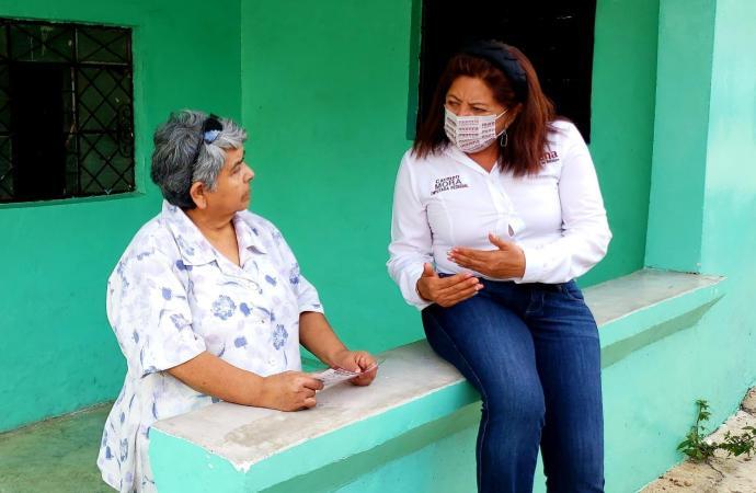 Hoy los programas del bienestar son transparentes, nadie les mete mano: Carmen Mora