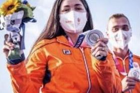 Gaby mexicana gana Bronce para Holanda