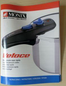 Clica para descargar el manual de Monix Veloce en PDF