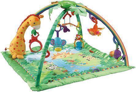 gimnasio bebe fisher price sonidos selva
