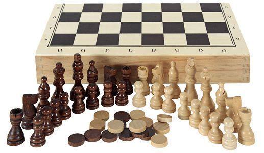 Comprar tablero de ajedrez, damas y backgammon Aquamarine Games barato
