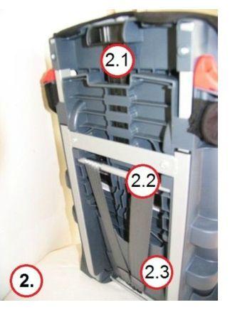 parte posterior silla triofix