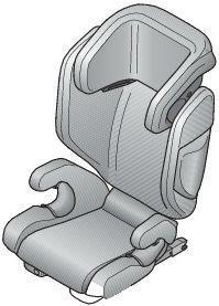 silla de coche grupo 2-3
