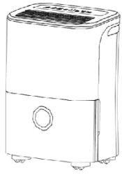 deshumidificador doméstico comfee