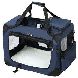 SONGMICS 81 x 58 x 58 cm Bolsa de Transporte para Mascotas