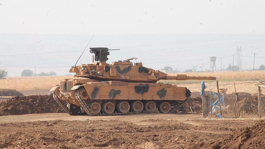 Nuevos M-60T Firat turcos en Afrin