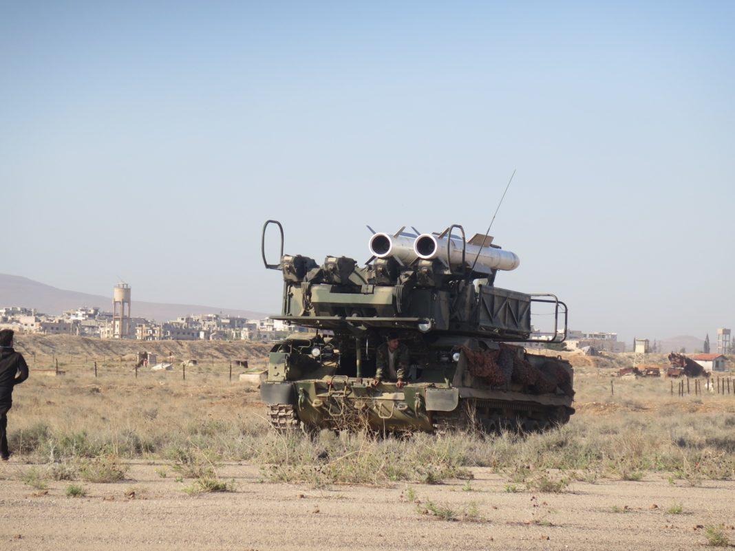 Cuántos Misiles fueron derribados por las Defensas Aéreas Sirias