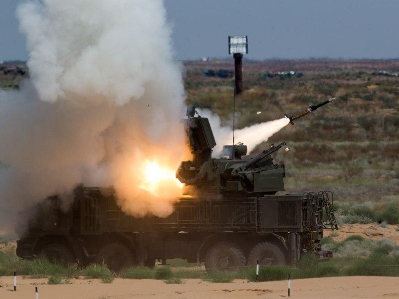 Derribos obtenidos por el sistema Pantsir ruso en Siria