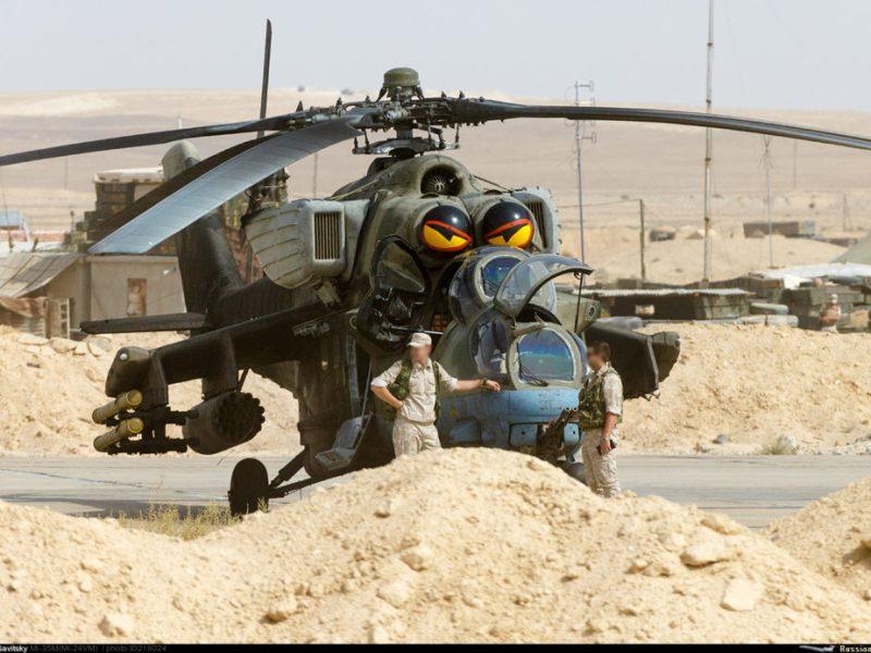 Primera Operación de Asalto Aéreo Helitransportado del Ejército Sirio