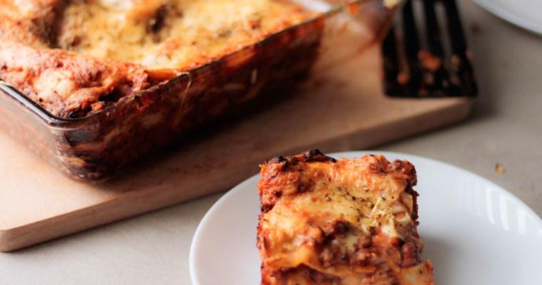Klasyczna lasagne