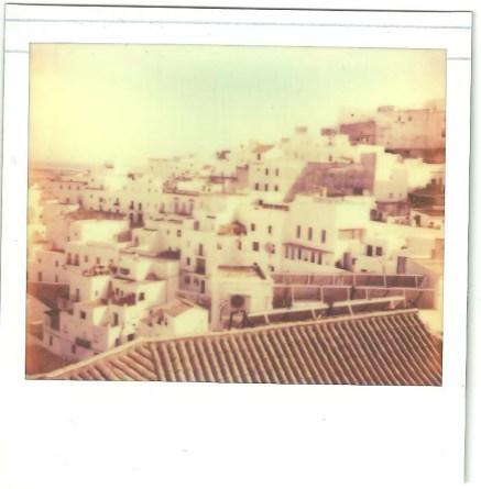 Fotografía hecha con el carrete Pz 680 de Impossible project con la cámara Polaroid Spectra Pro.