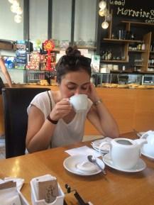 Black tea & italian breakfast